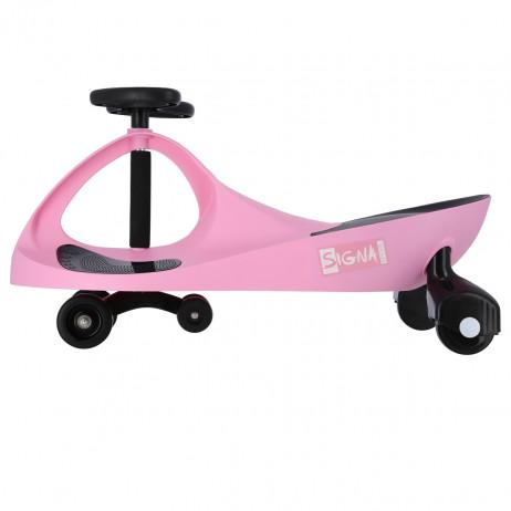 Masinuta Balansoar Signa BC88, roz/negru