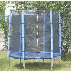 Trambulina si Plasa de Siguranta Sportmann Fun 140 cm - Albastru