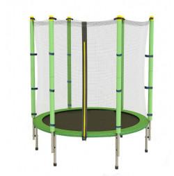 Trambulina si Plasa de Siguranta Sportmann Fun 140 cm - Verde