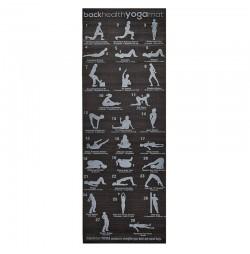 Saltea yoga F27B Yogi Plan, 173x61x0,6 cm