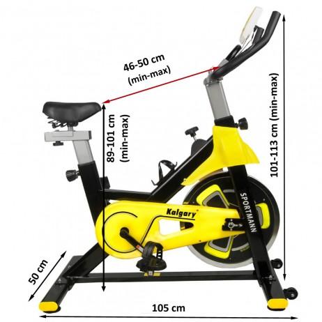 Bicicleta Indoor Cycling Sportmann Kalgary