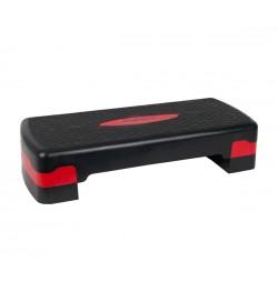 Banca aerobic Step Up Basic Sportmann, Rosu/Negru