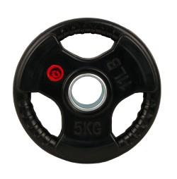 Greutate cauciucata 5kg/51mm Sportmann