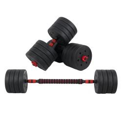 Set Haltera si Gantere ciment Sportmann SHG07 50 kg