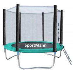 Trambulina si Plasa de Siguranta Sportmann 244 cm
