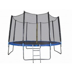 Trambulina si Plasa de Siguranta Sportmann 366 cm, Albastru