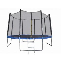 Trambulina si Plasa de Siguranta Sportmann 430 cm, Albastru
