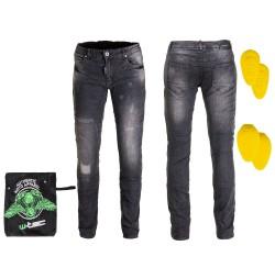 Pantaloni Moto Barbati Jeans W-TEC Komaford