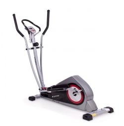 Bicicleta eliptica Corner carbon/rosu