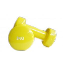 Gantere aerobic vinil 2x3kg Sportmann
