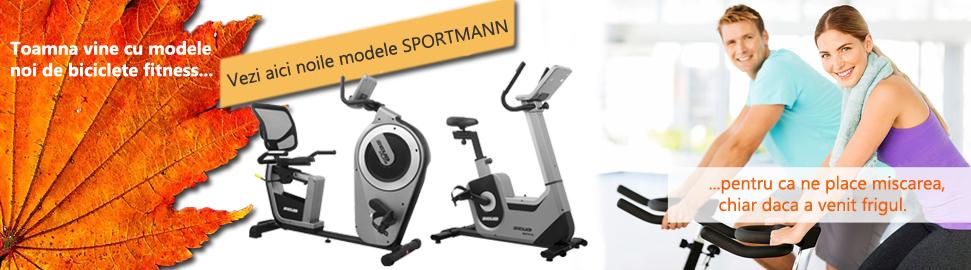 bicicleta fitness modele noi sportmann