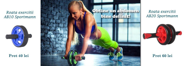 Aparate fitness roata exercitii